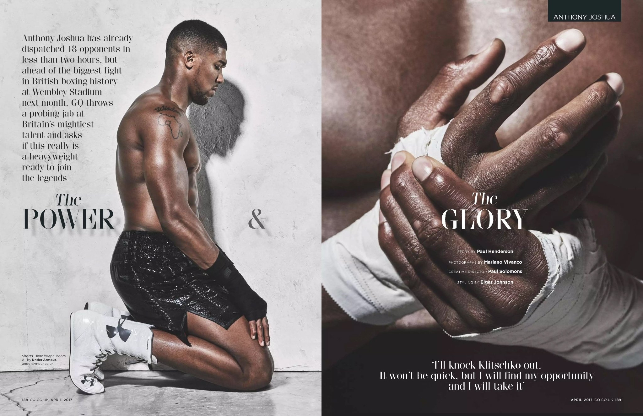 Anthony Joshua Gq